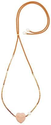 Lizzie Fortunato Sunset gemini necklace