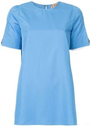 No.21 split-sleeve blouse