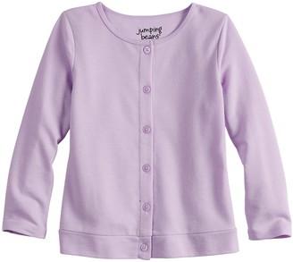 Osh Kosh Baby Girl Jumping Beans Button-Up Knit Cardigan