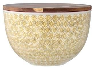 BLOOMINGVILLE Lidded Stoneware Susie Serving Bowl