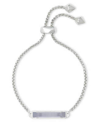Kendra Scott Stan Adjustable Chain Bracelet in Silver