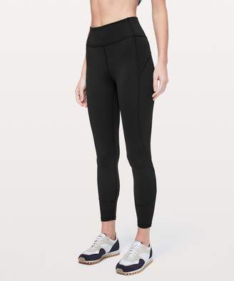 Lululemon In Movement 7/8 Tight *Everlux 25""