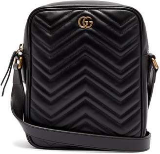 Gucci - Marmont Mini Messenger Bag - Mens - Black