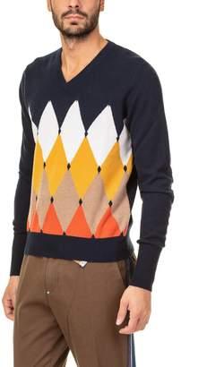Ballantyne V Neck New Classic Sweater