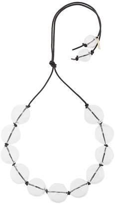 Proenza Schouler Large Glass Beads Choker