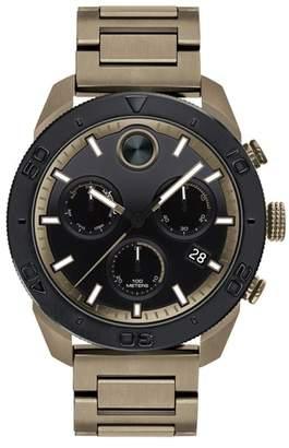 Movado Bold Sport Chronograph Bracelet Watch, 44mm