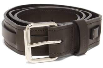Ribeyron - Arizona Leather Belt - Mens - Black