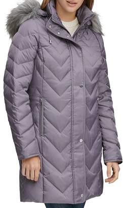 Andrew Marc Roxbury Matte Satin Puffer Coat