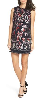 Foxiedox Takeo Embroidered Shift Dress