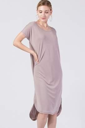 Olivia Pratt Curved Hem Dress