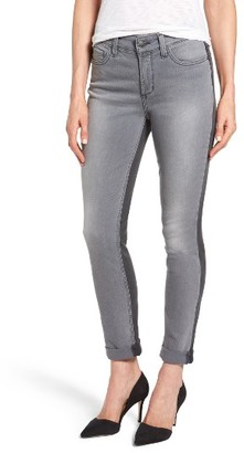Women's Nydj Two Tone Stretch Girlfriend Jeans $134 thestylecure.com