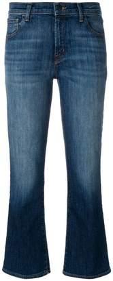 J Brand kick flare faded jeans