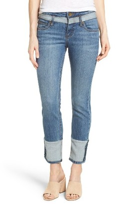 Women's Kut From The Kloth Straight Leg Ankle Jeans $94 thestylecure.com