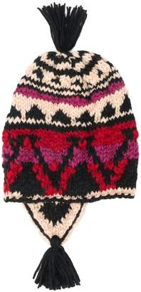 Etro chunky knit beanie