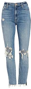 Mother Women's Stunner Ankle Step Fray Jeans