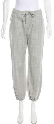 Max Mara Virgin Wool High-Rise Joggers