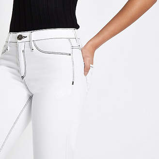 243757bb1f3e8 River Island White Skinny Jeans For Women - ShopStyle UK