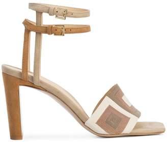 Marion Parke patterned strap sandals
