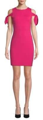 Susana Monaco Self-Tie Cold-Shoulder Dress