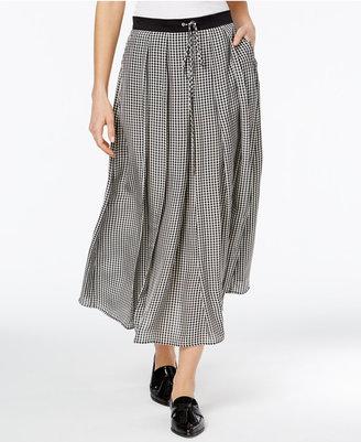 Weekend Max Mara Odette Printed Midi Skirt $295 thestylecure.com