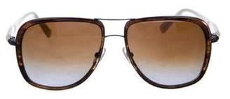 Samma Titanium Aviator Sunglasses