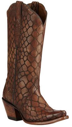 Women's Ariat Antebellum X Toe Cowgirl Boot
