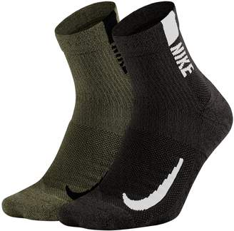 Nike Men's 2-pack Multiplier Ankle Socks