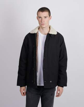 Edwin Deck Jacket Black