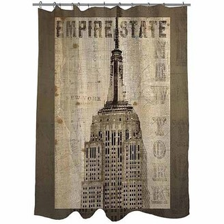 Thumbprintz Vintage NY Empire State Shower Curtain