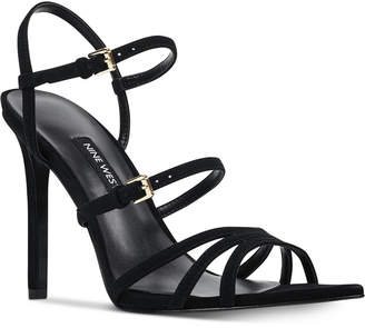 9c9c67471 Nine West Gilficco Strappy Dress Sandals Women Shoes
