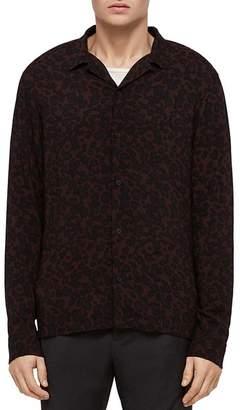 AllSaints Sigfried Oversized Fit Button-Down Shirt