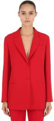 Valentino Silk & Wool Cady Blazer