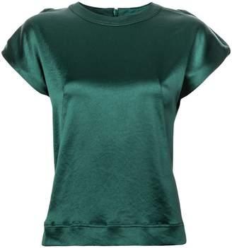 Cédric Charlier short-sleeve blouse