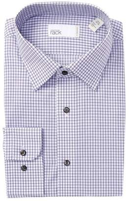 Nordstrom Rack Graph Check Traditional Fit Dress Shirt