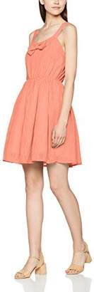 PepaLoves Women's Mafalda Peach Casual Dress,X-Small