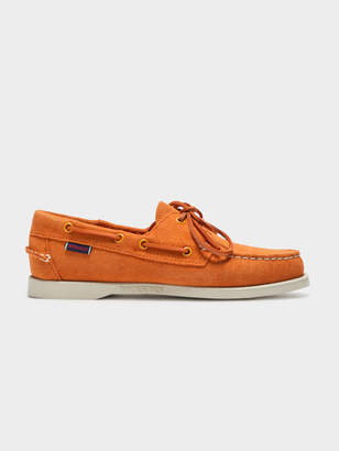 09389273b5c Sebago Womens Docksides Portland Boat Shoes in Orange