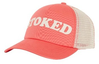 Women's Billabong Aloha Forever Trucker Hat - Red $17.95 thestylecure.com