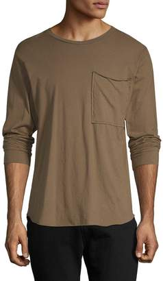Drifter Men's Feide Cotton Pocket Sweatshirt