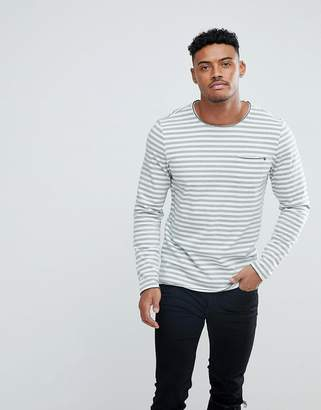 Blend of America Long Sleeve Breton Stripe T-Shirt