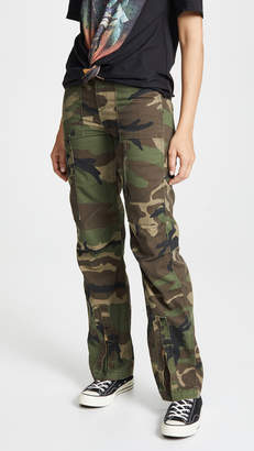 RE/DONE High Waisted Cargo Pants