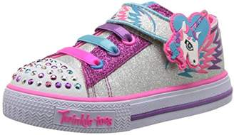 Skechers Girls' Shuffles-Party Pets Sneaker