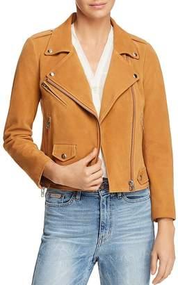 Rebecca Minkoff Wes Suede Moto Jacket