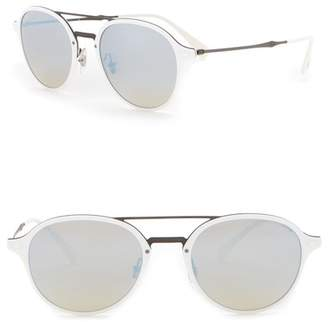Ray-Ban 51mm Round Sunglasses