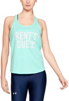 Under Armour Women's Project Rock Rents Due X-Back Tank
