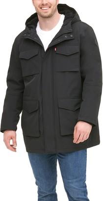 Levi's Levis Big & Tall Arctic Cloth Sherpa-Lined Parka