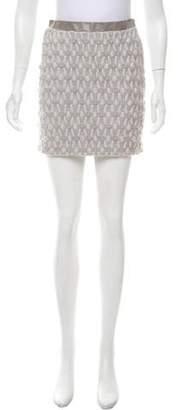 Iris Van Herpen Wool Mini Skirt w/ Tags
