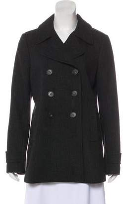 Theory Wool Button-Up Coat