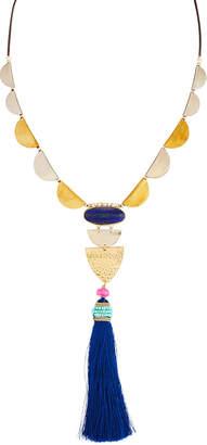 Nakamol Mixed Metal & Tassel Necklace