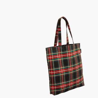 J.Crew Reusable everyday tote in plaid