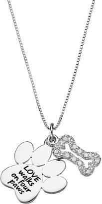 1d015b5dd Charmed By Diamonds CHARMED BY DIAMONDS 1/10 Carat T.W. Diamond Sterling  Silver